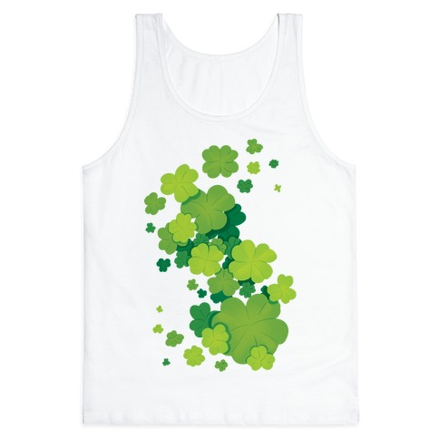 Clover Patch Pattern Tank Top
