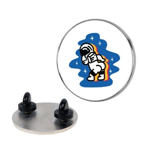 Asstronaut Pin