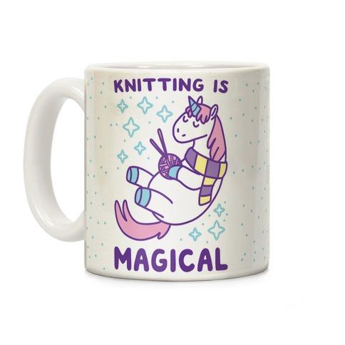Knitting is Magical Coffee Mug