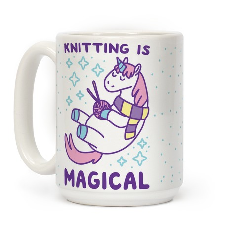 Knitting is Magical Coffee Mug