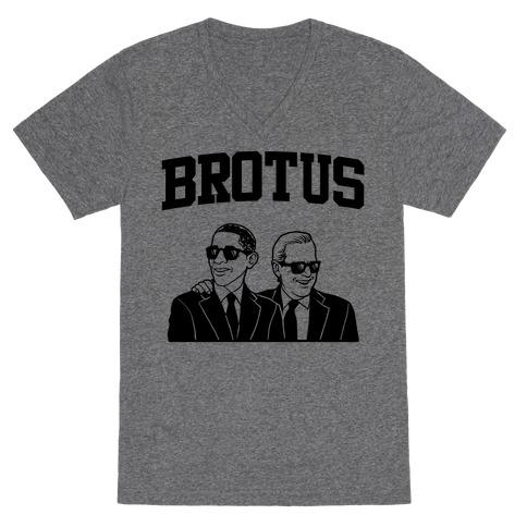 BROTUS V-Neck Tee Shirt