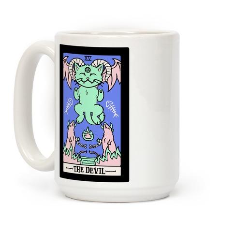 Creepy Cute Tarot: The Devil Coffee Mug