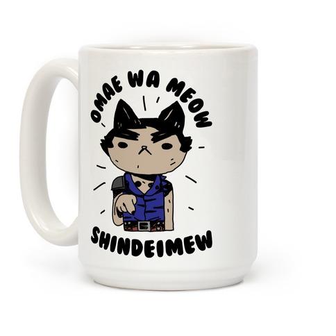 Omae Wa Meow Shindeimew Coffee Mug