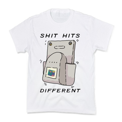 Shit Hits Different (Rumble Pack) Kids T-Shirt