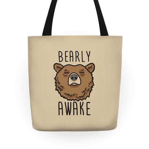 Bearly Awake Tote