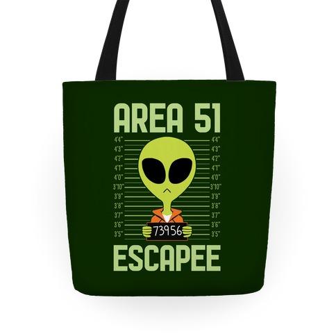 Area 51 Escapee Tote