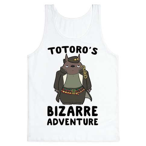 Totoro's Bizarre Adventure Tank Top