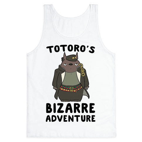 Totoro's Bizarre Adventure  Tank Top