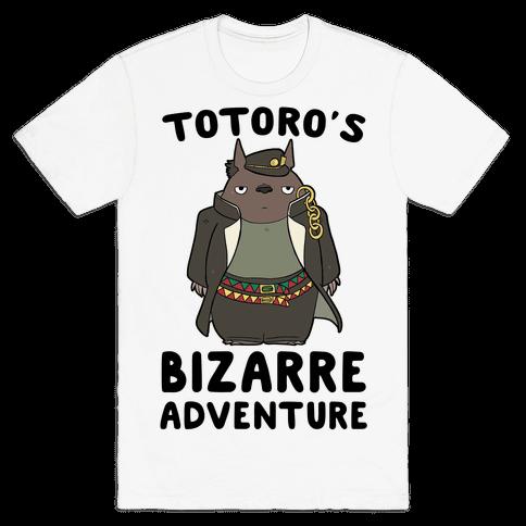 Totoro's Bizarre Adventure  Mens T-Shirt