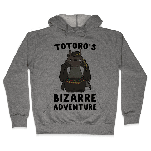 Totoro's Bizarre Adventure  Hooded Sweatshirt