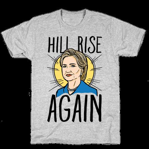 Hill Rise Again Mens T-Shirt