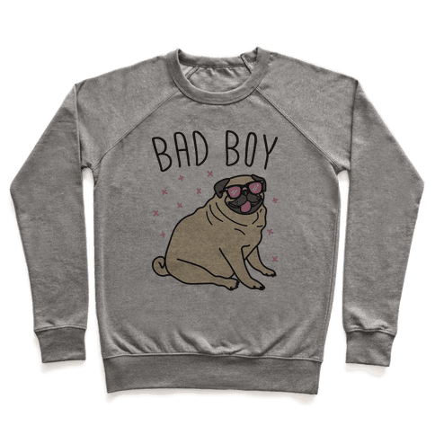 Bad Boy Pug Pullover