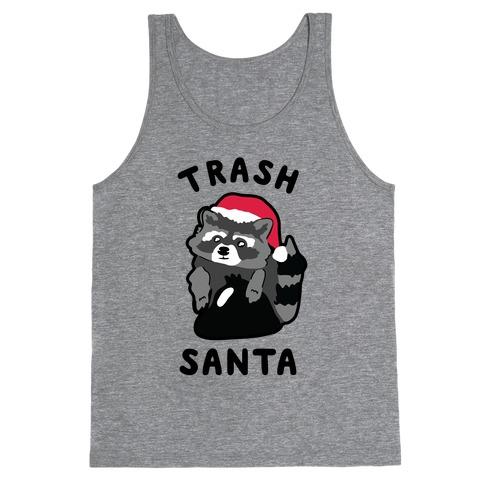 Trash Santa Tank Top