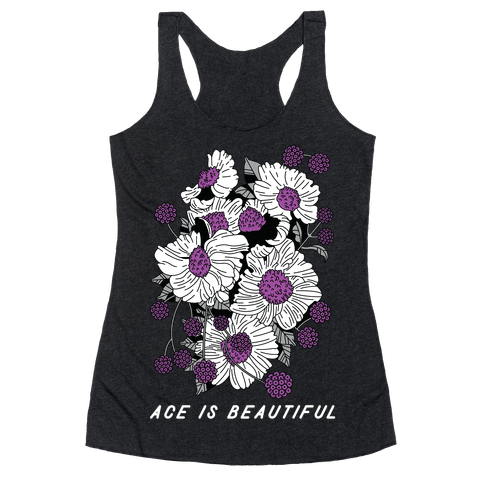 ACE is Beautiful Racerback Tank Top