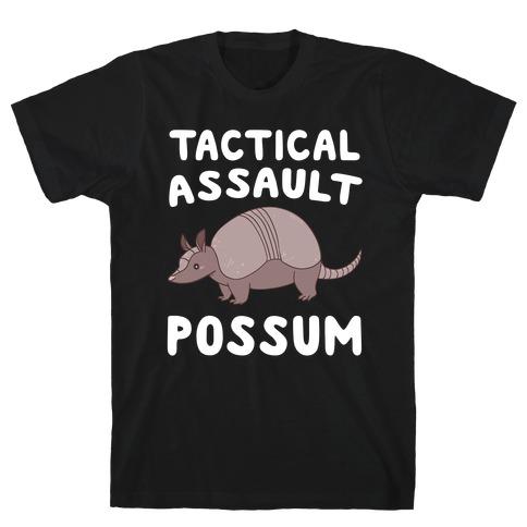Tactical Assault Possum - Armadillo T-Shirt