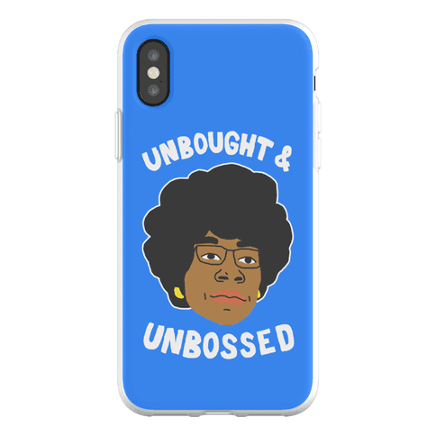 Unbought And Unbossed Phone Flexi-Case