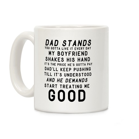 Badlands Dad Parody Coffee Mug