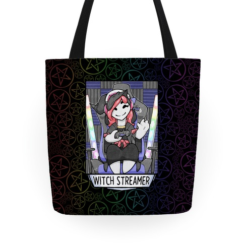 Witch Streamer Tote