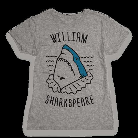 William Sharkspeare Womens T-Shirt