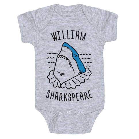 William Sharkspeare Baby Onesy