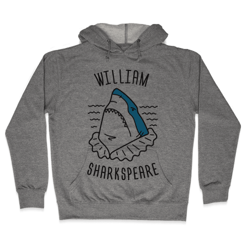 William Sharkspeare Hooded Sweatshirt