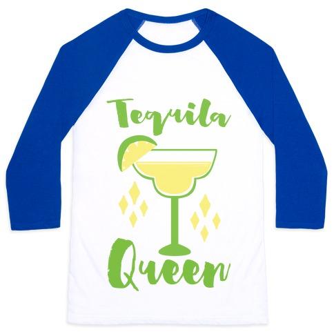 Tequila Queen Baseball Tee