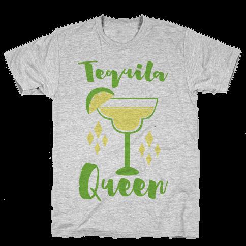 Tequila Queen Mens T-Shirt