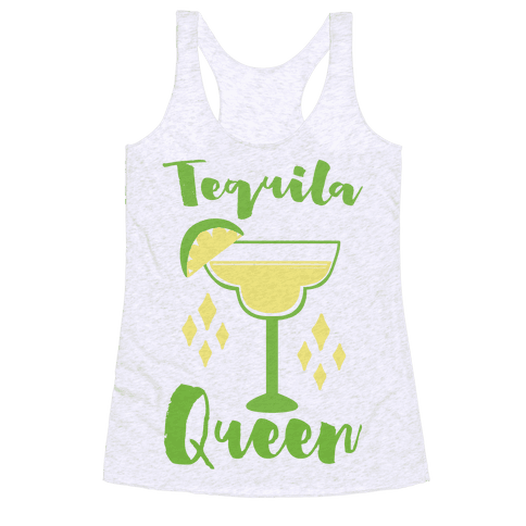 Tequila Queen Racerback Tank Top