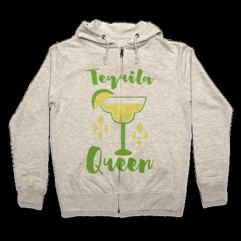 Tequila Queen Zip Hoodie