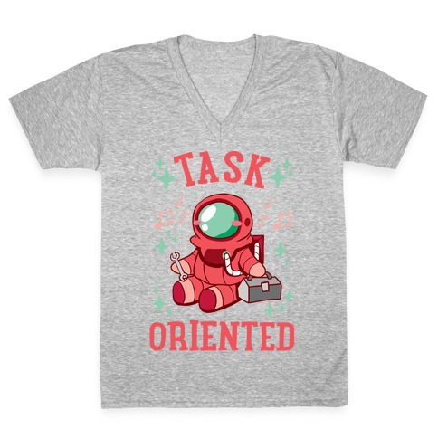 Task Oriented V-Neck Tee Shirt