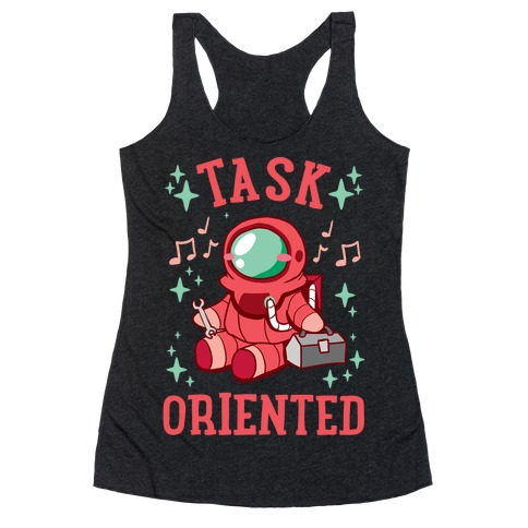 Task Oriented Racerback Tank Top