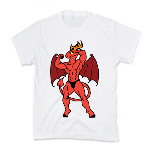 Buff cryptids: Jersey Devil Kids T-Shirt