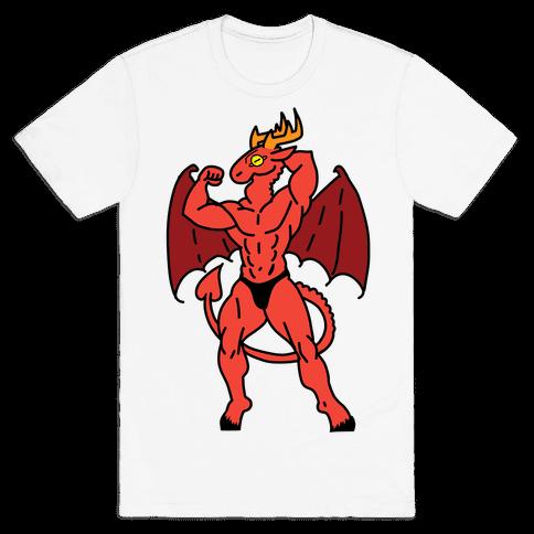 Buff cryptids: Jersey Devil Mens/Unisex T-Shirt