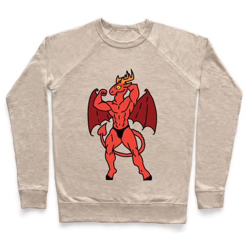 Buff cryptids: Jersey Devil Pullover