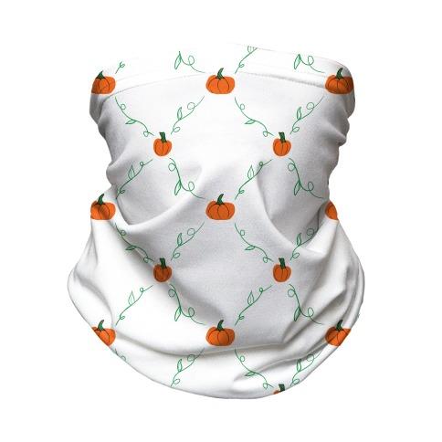 Tiny Pumpkin Pattern Neck Gaiter