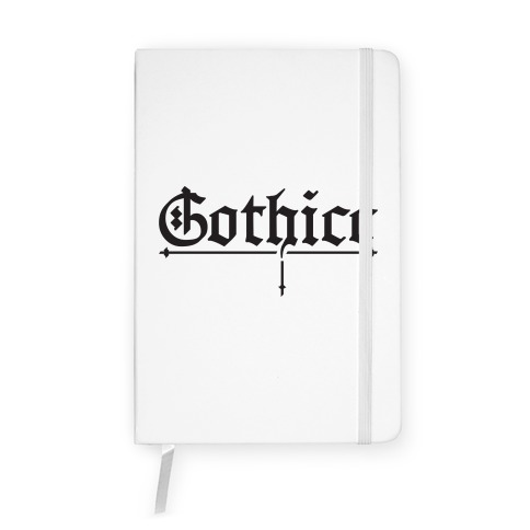 Gothicc Notebook