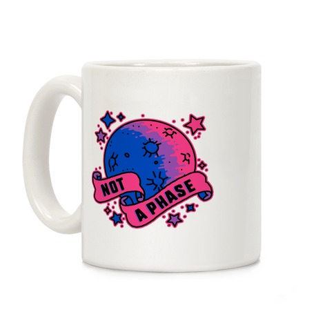 Not a Phase Bi Moon Coffee Mug