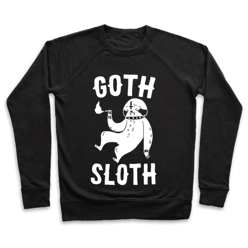 Goth Sloth Pullover