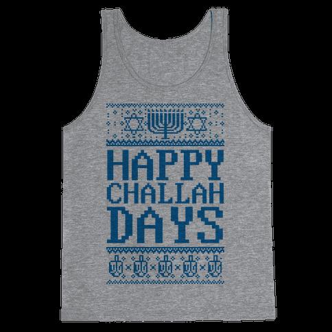 Happy Challah Days Tank Top