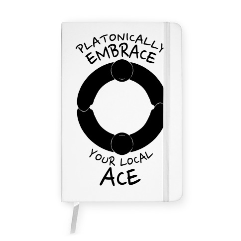 Platonically Embrace Your Local Ace Notebook