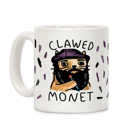 Clawed Monet Coffee Mug