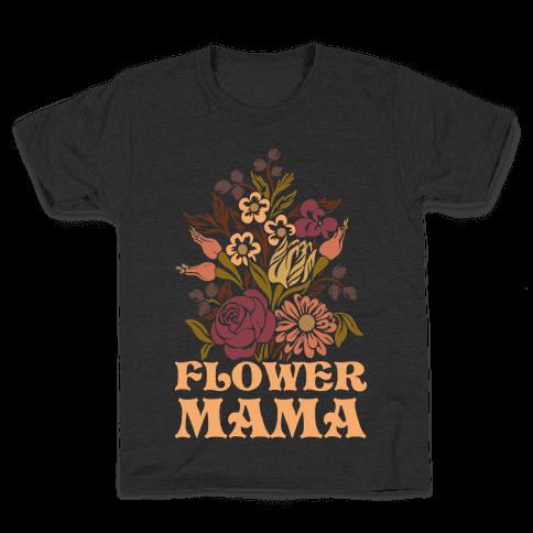 Flower Mama Kids T-Shirt