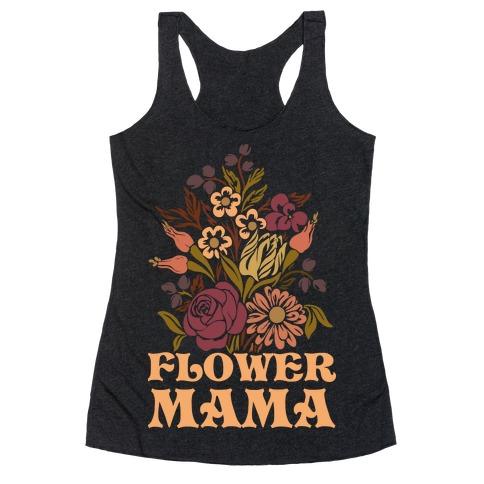 Flower Mama Racerback Tank Top
