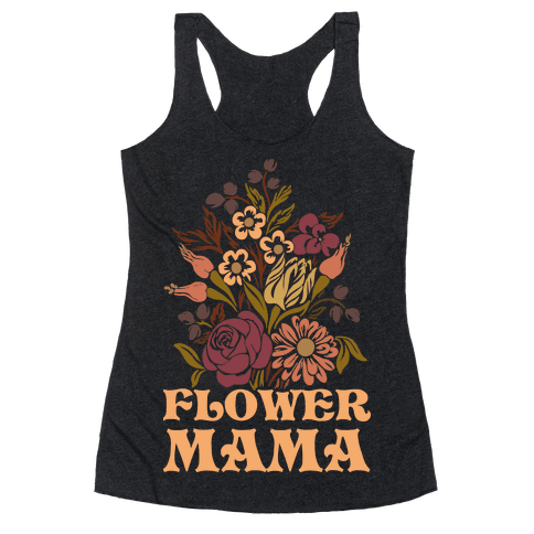 Flower Mama Racerback Tank Top