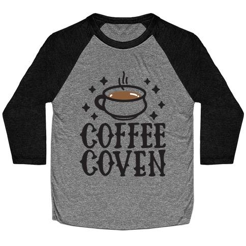 Coffee Coven Baseball Tee