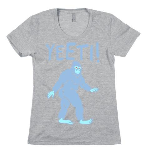 Yeeti Yeti Parody Womens T-Shirt