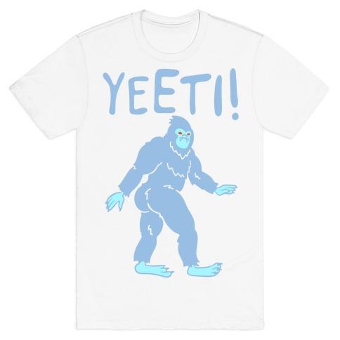 Yeeti Yeti Parody T-Shirt