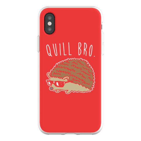 Quill Bro Phone Flexi-Case