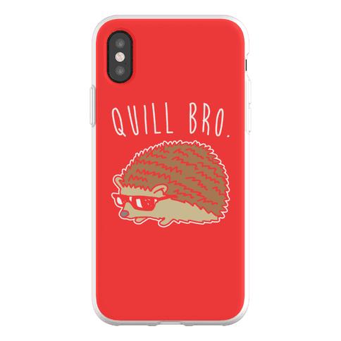 Quill Bro Phone Flexi-Case
