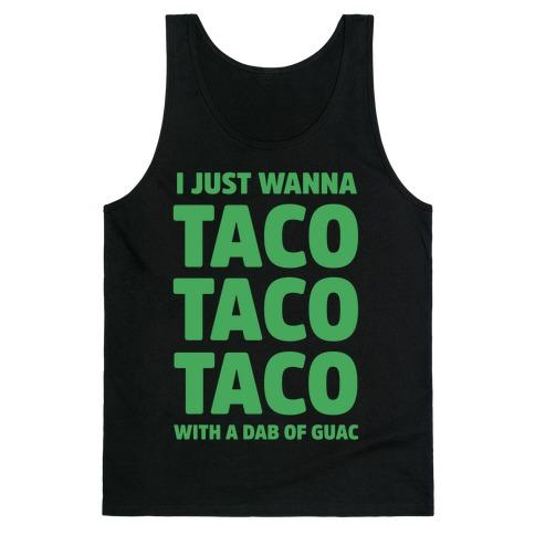 All I Need's a Taco Tank Top